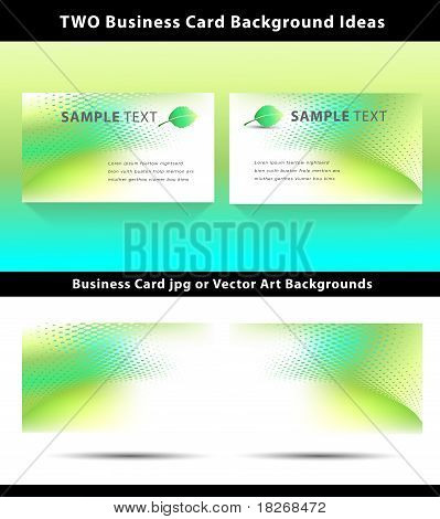 Eco Friendly Business Card Templates