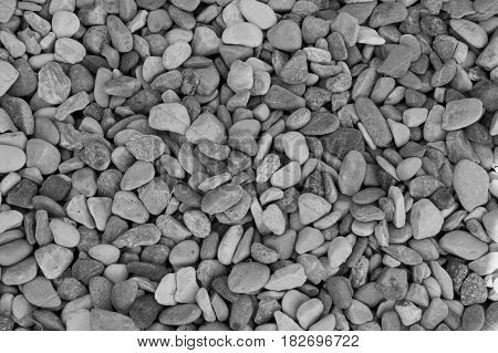 Gravel As Gravel Background