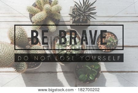 cactus plant be brave tag