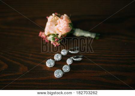 Wedding flower boutonniere groom. Wedding in Montenegro.