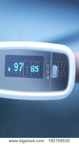 Blood Pressure Finger Monitor