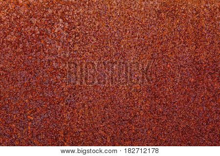 corroded rusted iron metal background