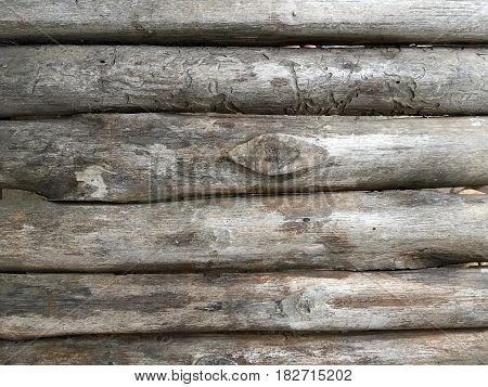 Western Style Brown And Black Old Wood Texture With Natural Patterns.