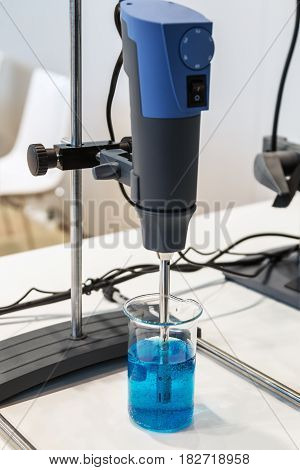 Medical and laboratory equipment for experiments. Modern technologies in medical equipment