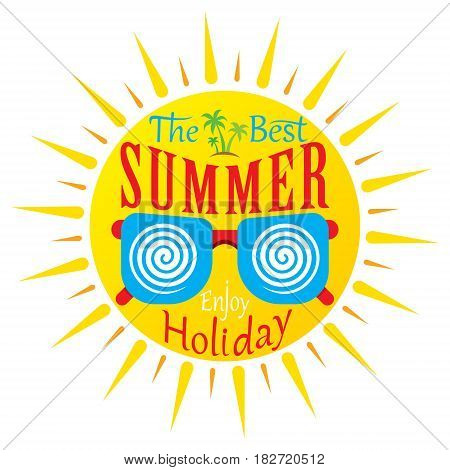 the best summer holiday banner design with goggle