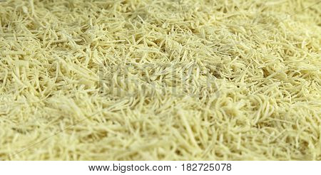Heap Of Yellow Noodles Close Up Background