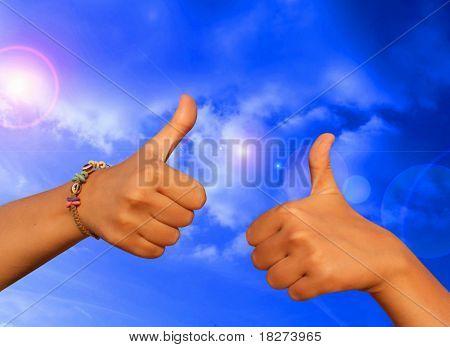 Gesture ok