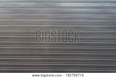 Texture Of Metal Profiled Sheet Fence Decking