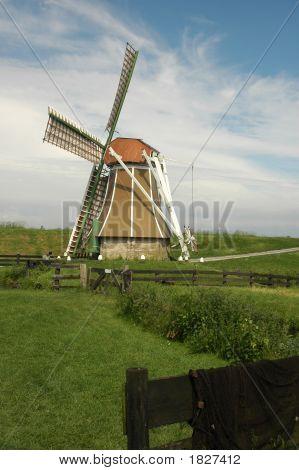 Pastel Windmill