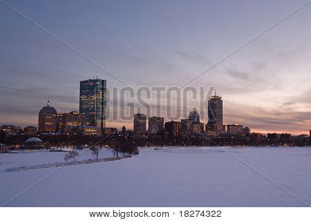 Downtown Boston Back Bay