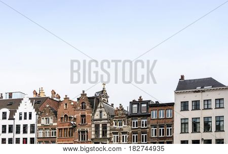 Europe cityscape - landmark of Brussels