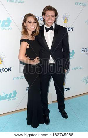 LOS ANGELES - APR 18:  Guest, Jonah Green at the Thirst Gala 2017 at Beverly Hilton Hotel on April 18, 2017 in Beverly Hills, CA