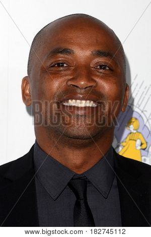 LOS ANGELES - APR 18:  DaJuan Johnson at the Thirst Gala 2017 at Beverly Hilton Hotel on April 18, 2017 in Beverly Hills, CA