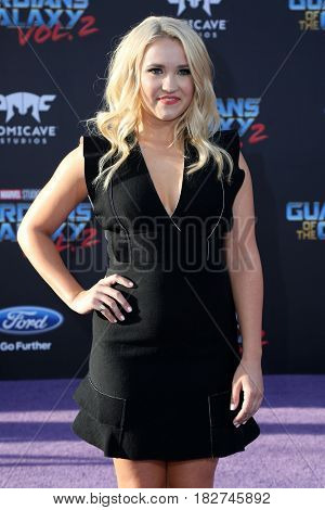 LOS ANGELES - APR 19:  Emily Osment at the