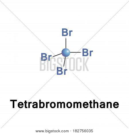 Tetrabromomethane, CBr4, also known as carbon tetrabromide, is a carbon bromide