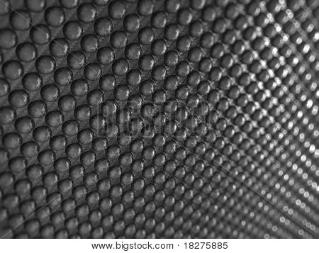 Pimply Carbon Fibre With Shallow Dof
