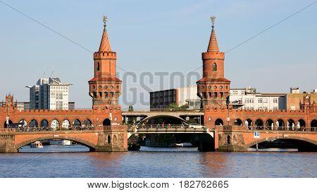 Oberbaum Bridge Berlin Landmark