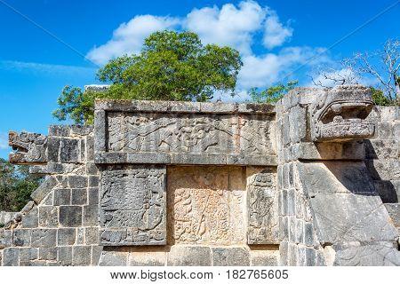 Platform Of The Eagles And Jaguars