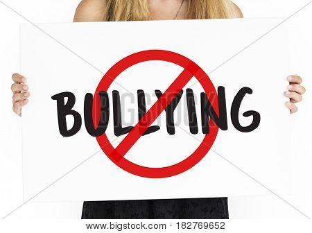 Aggressive Behavior No Bullying Icon