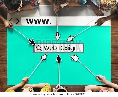 Website Template Content Layout Graphic Word