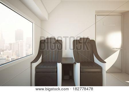 Luxury Train Seats Toning