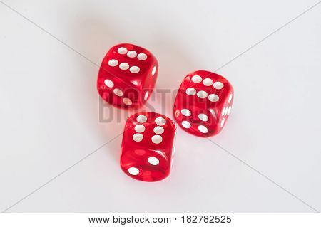 Red Dices - Winning Dice