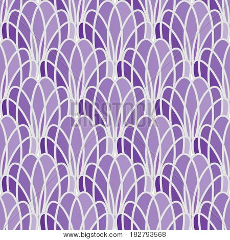 Seamless abstract background with fine patterns in shades of purple