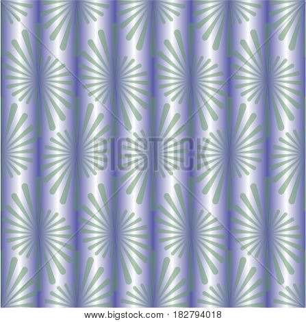 Seamless background with metallic purple gradient and fine green patterns