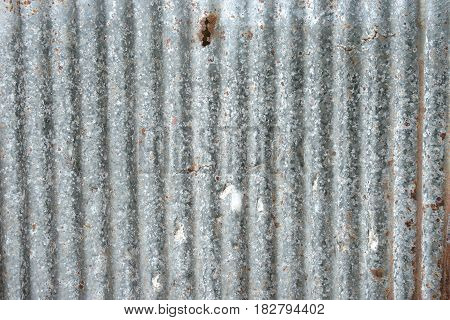 Old galvanized sheet for the texture background