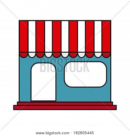 store frontview icon image vector illustration design