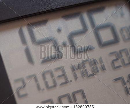 Digital Clock Lcd