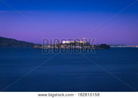Alcatraz and the San Francisco Blue Hour