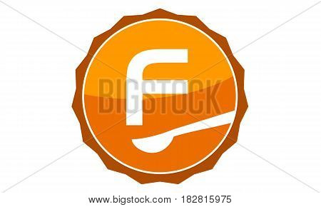 This Vector describe about Restaurant Letter F