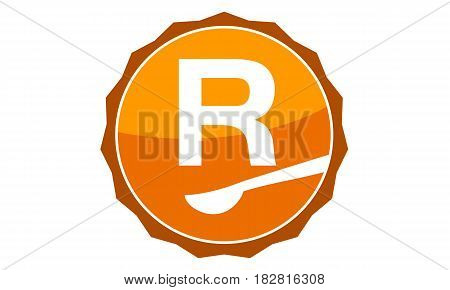 This Vector describe about Restaurant Letter R