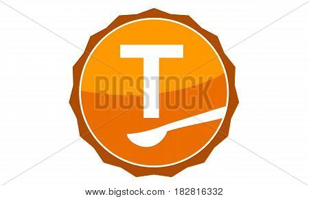 This Vector describe about Restaurant Letter T