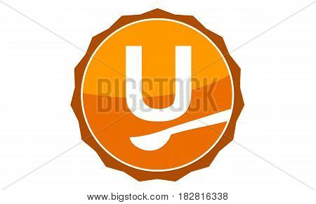This Vector describe about Restaurant Letter U