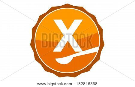 This Vector describe about Restaurant Letter X