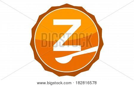 This Vector describe about Restaurant Letter Z