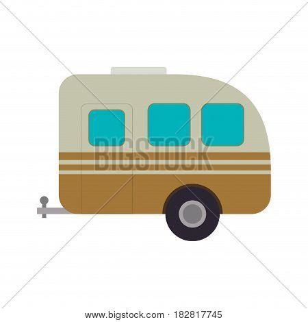 Pick up trailer icon vector illustration graphic design
