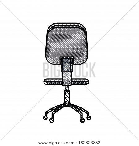 office chair work image vector illustration eps 10
