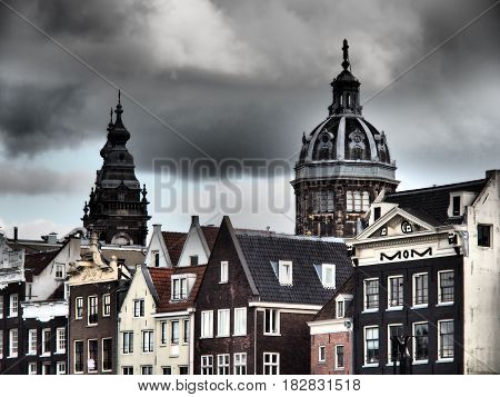 the beautiful City of Amsterdam in the netherlands