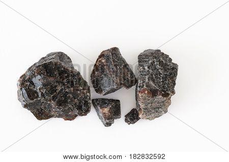 Himalayan black salt crystals or kala namak
