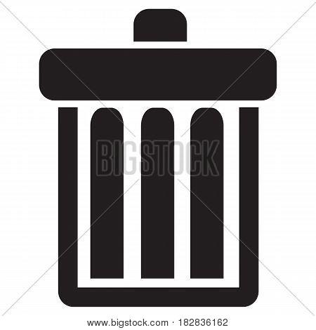 Trash Can Icon Garbage Computer Icon Delete Key Symbol