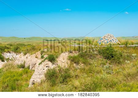 Inner Mongolia, China - Aug 10 2015: Site Of Xanadu (world Heritage Site). A Famous Historic Site In