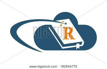 This vector describe about Cloud Ebook Solutions Initial R