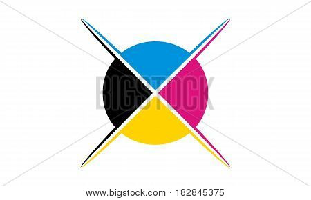 This Vector describe about Digital Printing Logo