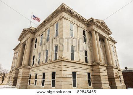 Ford County Courthouse in Dodge City. Dodge City Kansas USA.