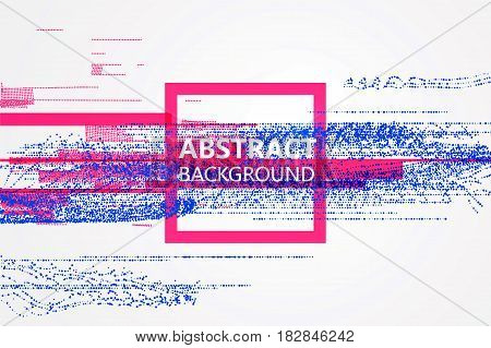 Abstract background sense of form design,Vector graphics design.