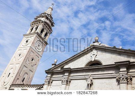 Santa Maria Formosa Church in Venice. Venice Veneto Italy.