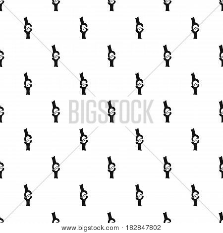 Knee joint pattern seamless in simple style vector illustration